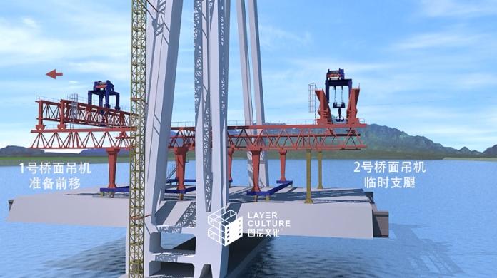 桥梁工业三维机械演示万博最新体育app视频制作